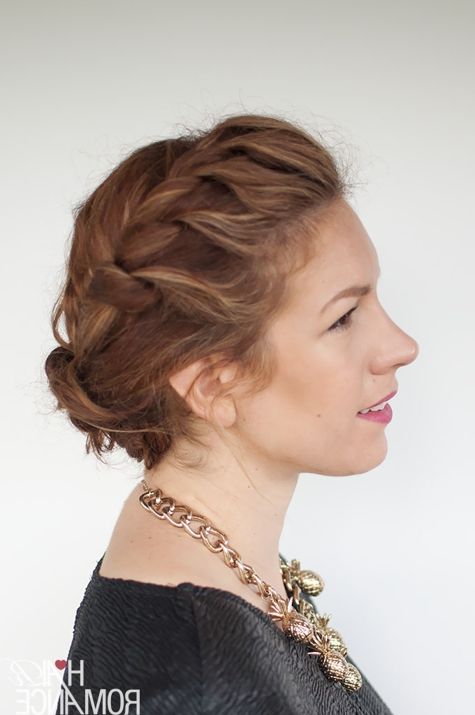 My Quick Everyday Curly Hair Updo – Hair Romance Regarding Newest Hair Updos For Curly Hair (View 8 of 15)
