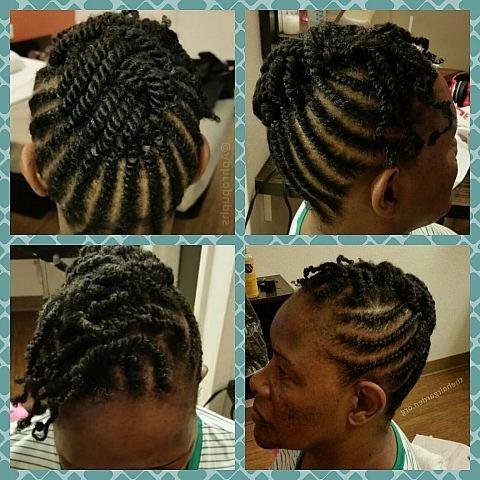 Natural Hair Flat Twist Hairstyles Updos Updo Above View Hairstyle for Recent Flat Twist Updo Hairstyles On Natural Hair