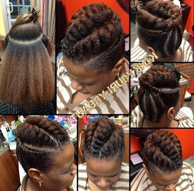 Natural Hair, Protective Styles, Updo – Picmia | Hair And Beauty Intended For Latest Jumbo Twist Updo Hairstyles (View 11 of 15)