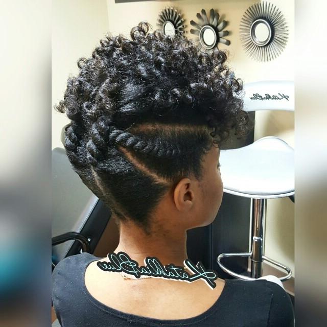 Natural Hair Updo..flexi Rod Set..flat Twist Www (View 15 of 15)