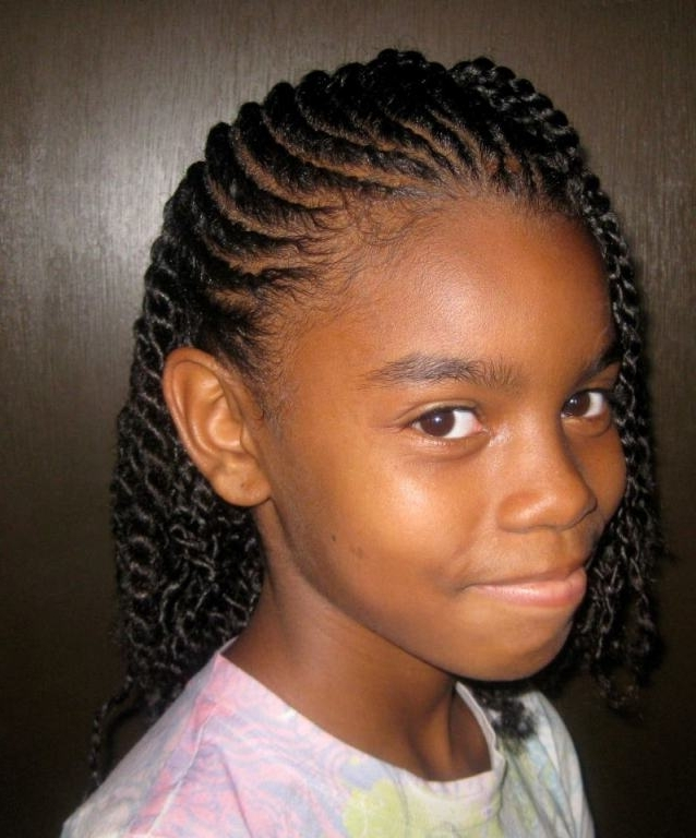 Natural Hairstyles For Kids Black – Hairstyles : Fashion Styles With Regard To Most Popular Children's Updo Hairstyles (View 14 of 15)