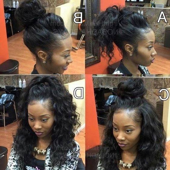 Featured Photo of Sew In Updo Hairstyles