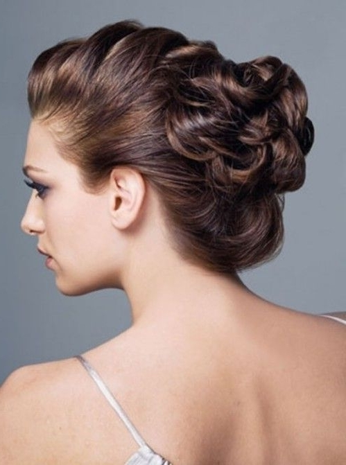 Other Mother Of The Bride Updos Are Braid Updos And Finger Wave With Regard To Recent Updo Hairstyles For Mother Of The Bride Medium Length Hair (View 12 of 15)