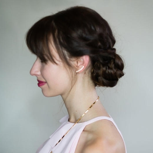 Our Favorite Prom Hairstyles For Medium Length Hair | More In Most Recently Homecoming Updos Medium Hairstyles (View 14 of 15)