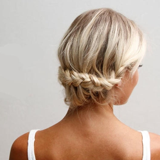 Our Favorite Prom Hairstyles For Medium Length Hair | More Within Most Up To Date Prom Updo Hairstyles For Medium Hair (View 14 of 15)