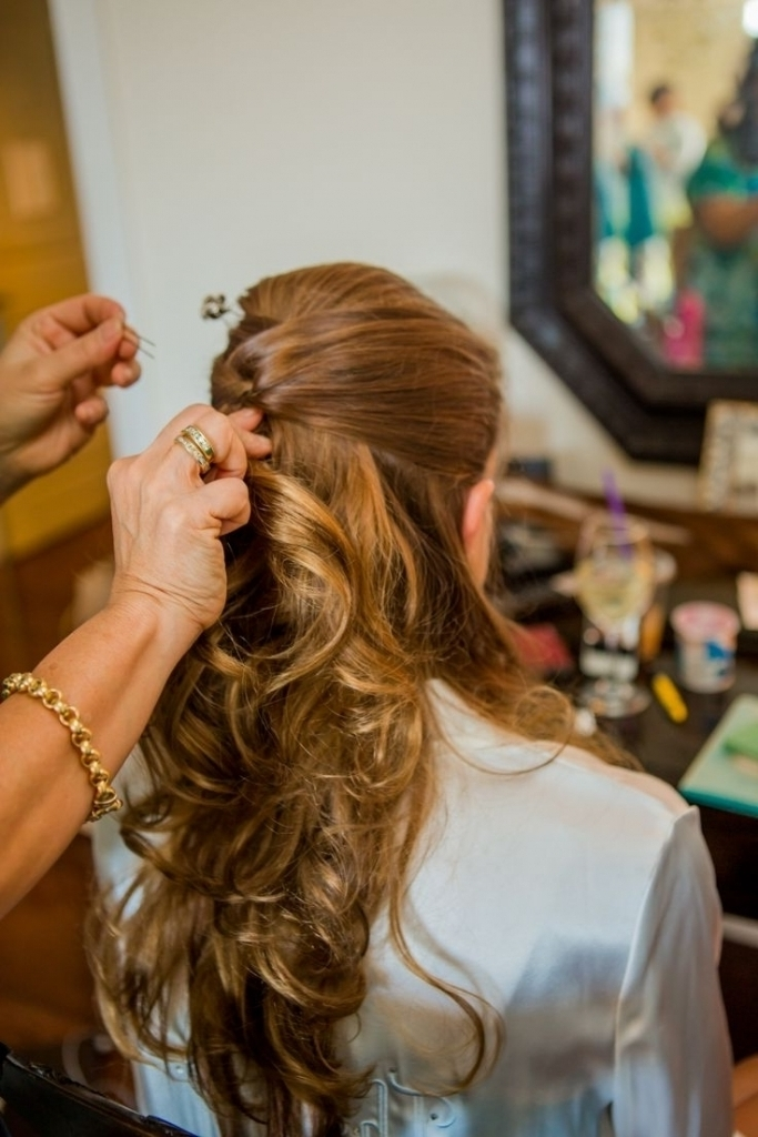 Partial Updo Hairstyles Partial Updo Hairstyles For Wedding Women Pertaining To Most Recently Partial Updo Hairstyles (View 13 of 15)