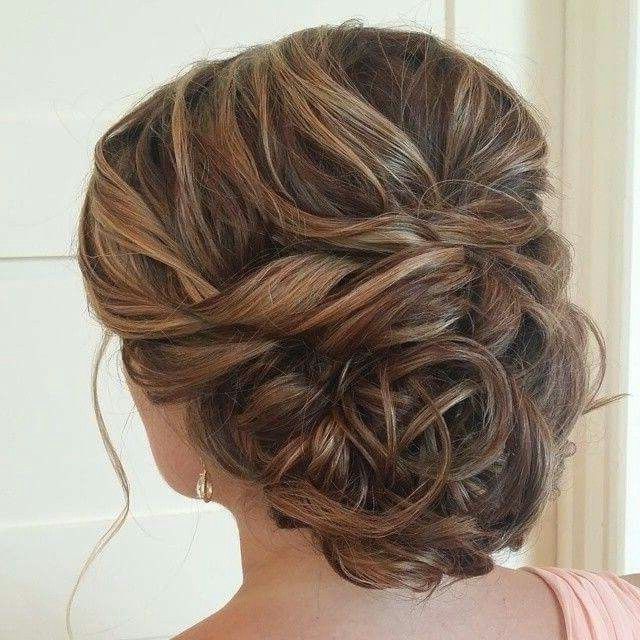 Peinado 1 | Cabello | Pinterest | Prom, Prom Hair And Hair Style Throughout Best And Newest Hairstyles For Bridesmaids Updos (View 10 of 15)