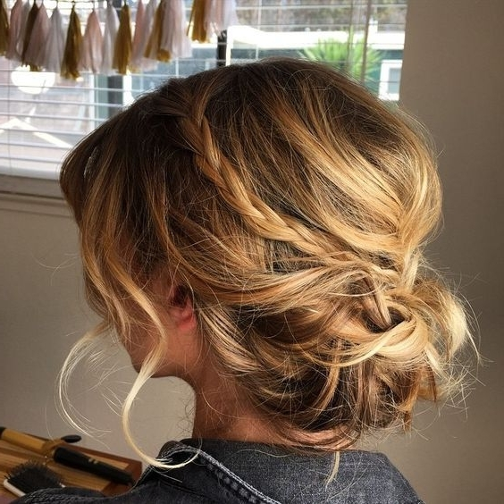 Perfectly Imperfect Messy Hair Updos For Girls With Medium To Long Within Most Popular Messy Updos For Medium Hair (View 3 of 15)