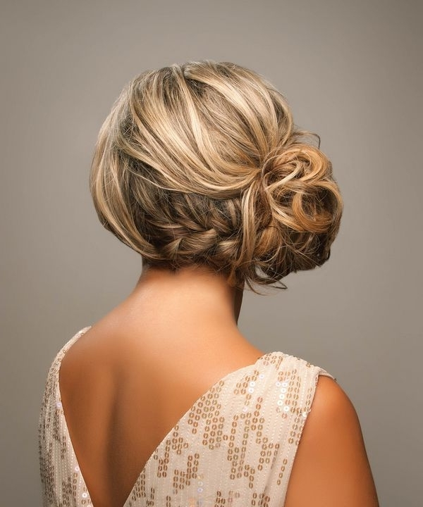 Picture Of Strikingly Gorgeous Side Updo Wedding Hairstyles Intended For Recent Side Updo Hairstyles (View 10 of 15)