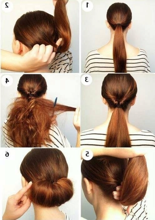 Pinbrittany Van Etten On Hair | Pinterest | Hair Style, Hair Intended For 2018 Easy Elegant Updo Hairstyles For Thin Hair (View 7 of 15)