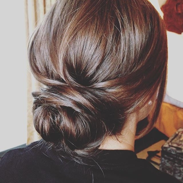 Pinesi Braimah On Hair | Pinterest | Hair Style, Prom And Wedding Throughout Most Recently Simple Hair Updo Hairstyles (View 10 of 15)