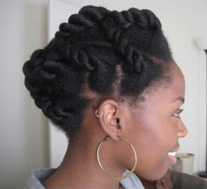 Pinifie Amonwu On 'fro 'fro | Pinterest | Natural, Hair Within 2018 Chunky Twist Updo Hairstyles (View 12 of 15)