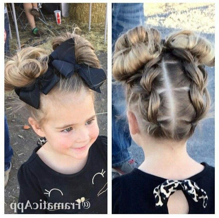 Pinmegan Wyman On Little Girl Hair | Pinterest | Instagram, Girl Intended For Best And Newest Easy Updo Hairstyles For Kids (View 14 of 15)