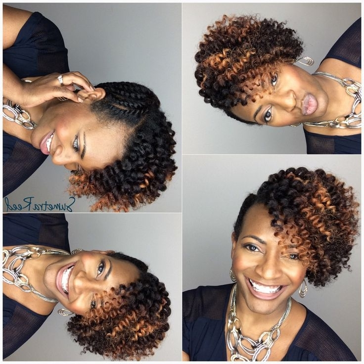 Pinwanda Y On Natural Hairstyles   Pinterest   Amazing Hair With Regard To Most Recently Updo Twist Out Hairstyles (View 5 of 15)