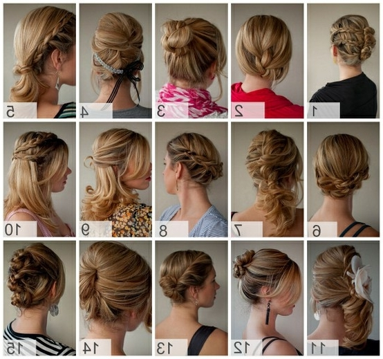 Pix For > Cute Easy Hairstyles For Long Hair For School | Hair With Regard To 2018 Cute Updos For Long Hair Easy (View 13 of 15)