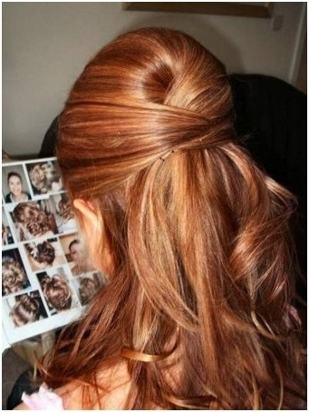 Pix For > Prom Hairstyles For Medium Hair Half Up Half Down | Hair Regarding Recent Updo Half Up Half Down Hairstyles (View 7 of 15)