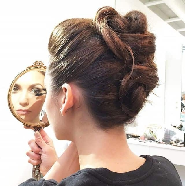 Polished Coiffures For Professional Women With Long Hair Inside Most Recent Professional Updo Hairstyles For Long Hair (View 12 of 15)