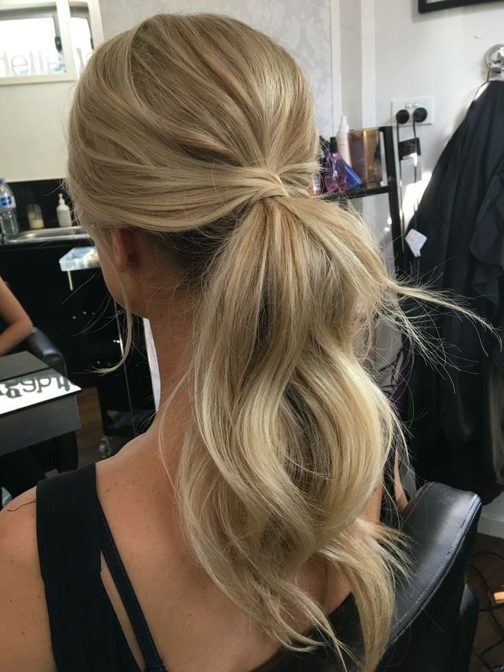 Pony Tail , Hairstyles, Bridal Hair Style, Messy Ponytail | Hair Throughout Most Current Ponytail Updo Hairstyles (View 11 of 15)