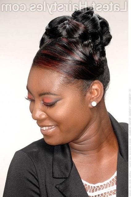 Featured Photo of Updo Hairstyles For African American Long Hair