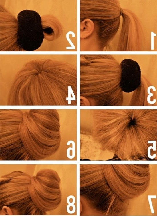 Popular Hairstyles Trends 2013~2014 For Thin Hair With Extensions Throughout Most Recently Messy Updo Hairstyles For Thin Hair (View 6 of 15)