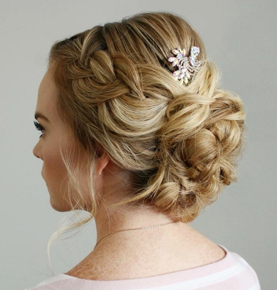 Pretty Updos For The Holidays   Beauty Throughout Newest Pretty Updo Hairstyles (View 7 of 15)