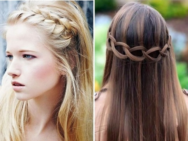 Prom Blonde Updo Hairstyles For Long Straight Hair With Side Bangs . (View 8 of 15)