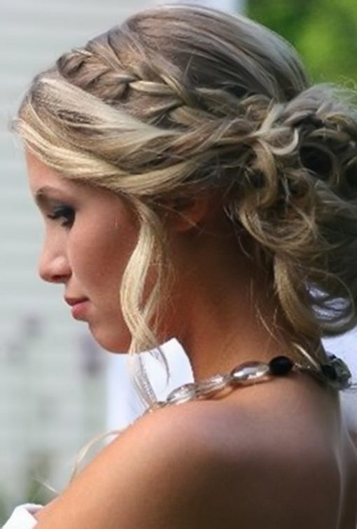 Prom Hairstyle For Long Hair Updos – Hairstyle Archives Regarding Intended For Recent Blonde Updo Hairstyles (View 10 of 15)