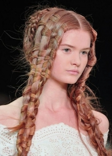 Prom Hairstyles For Long Thin Hair 2017   Hairstyles   Pinterest Within Most Recently Long Thin Hair Updo Hairstyles (View 15 of 15)