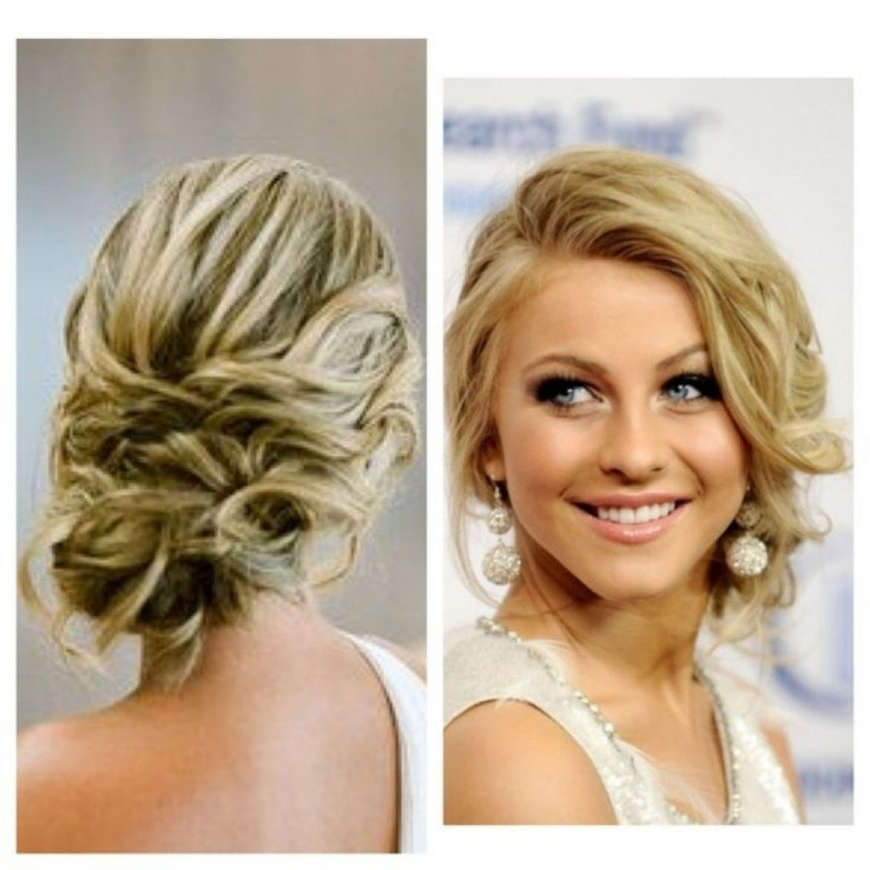 Prom Hairstyles For Medium Hair Updos Updo Hairstyles Prom Pretty Pertaining To 2018 Formal Updo Hairstyles For Medium Hair (View 13 of 15)