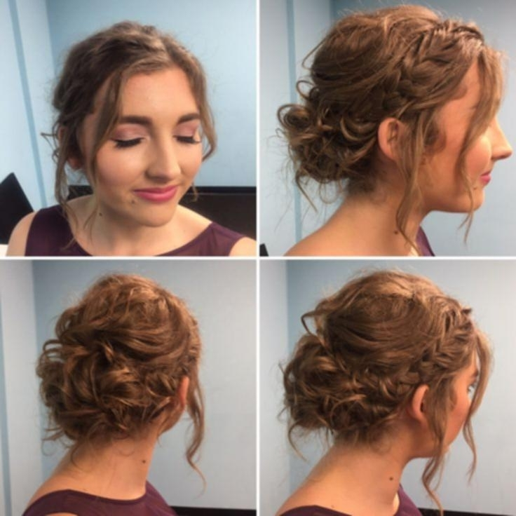 Prom Hairstyles Short Length Hair 6966E54Db4E29B0E6641Ffc795702D36 With Best And Newest Updo Hairstyles For Short Hair Prom (View 6 of 15)