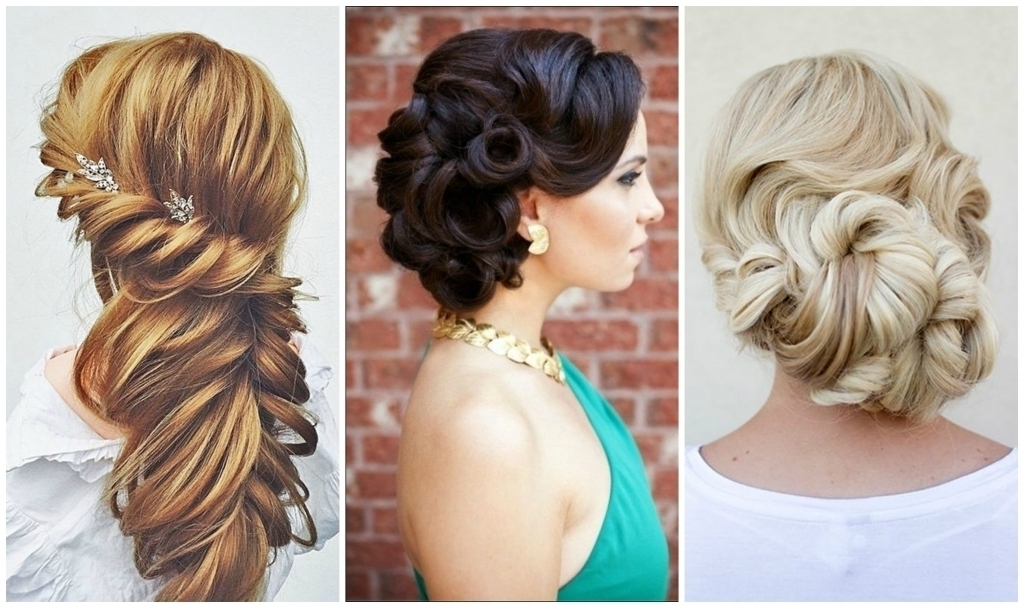Prom Updo Hairstyle 2016 – Popular Long Hairstyle Idea In Most Up To Date New Updo Hairstyles (View 14 of 15)