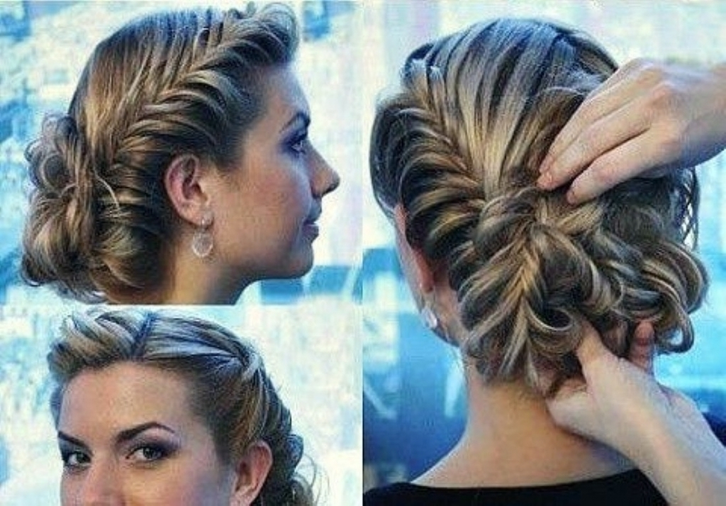 Prom Updo Hairstyle For Long Hair Prom Hairstyles Updos Simple Regarding Recent Prom Updo Hairstyles For Medium Hair (View 13 of 15)