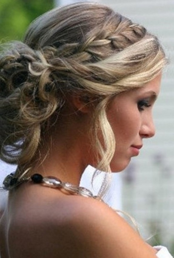 Prom Updo Hairstyles Tumblr Medium Hair Updo Hairstyles For Prom For With Regard To Most Up To Date Prom Updo Hairstyles For Medium Hair (View 3 of 15)