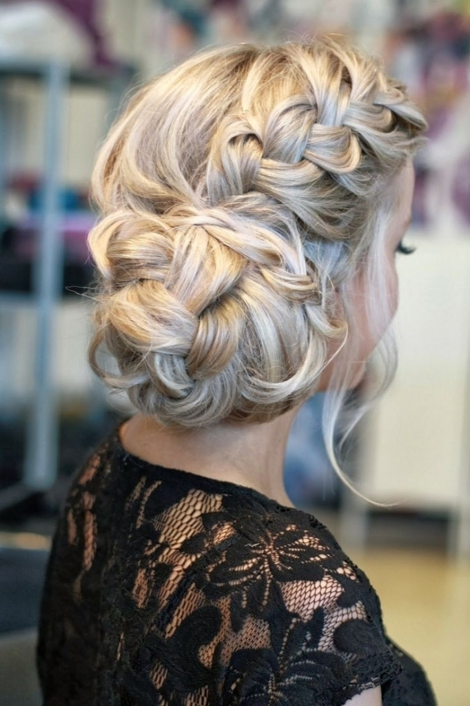 Prom Updos For Long Hair With Braids – Popular Long Hairstyle Idea Throughout Most Popular Homecoming Updo Hairstyles For Long Hair (View 8 of 15)