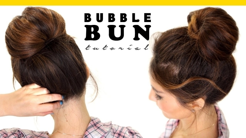 Quick And Easy Updo Hairstyles For Long Hair – Popular Long Within Most Recent Easy Bun Updo Hairstyles For Medium Hair (View 12 of 15)