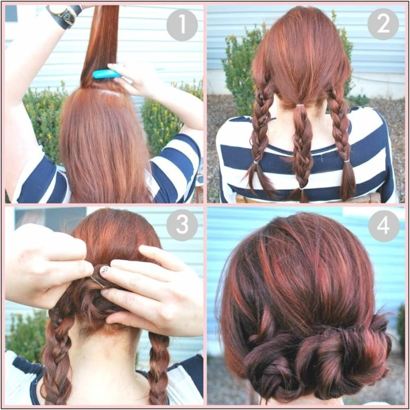 Quick And Easy Updos For Long Hair Fast Simple Hair Updos For Medium In Best And Newest Quick And Easy Updos For Medium Length Hair (View 14 of 15)