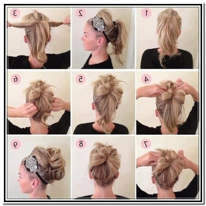 Quick And Easy Updos For Long Hair – Hairstyle For Women & Man In 2018 Quick And Easy Updo Hairstyles For Medium Hair (View 12 of 15)