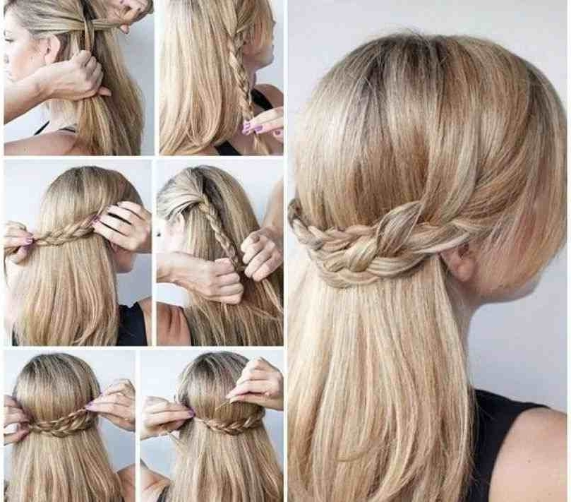 Quick And Easy Updos For Long Thick Hair | Fashionables.xyz With Regard To Newest Quick Easy Updos For Long Thick Hair (Gallery 2 of 15)