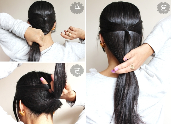 Quick Easy Minute Casual Updocute Simple Updos For Long Hair Pertaining To Most Popular Quick Easy Updos For Long Thick Hair (Gallery 5 of 15)