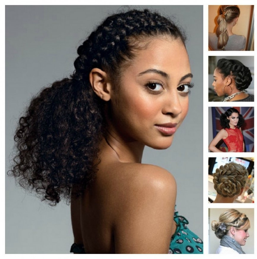 Quick Hairstyles For Short Black Hair – Hairstyles Inspiration With For Most Recently Quick Updos For Short Black Hair (Gallery 15 of 15)