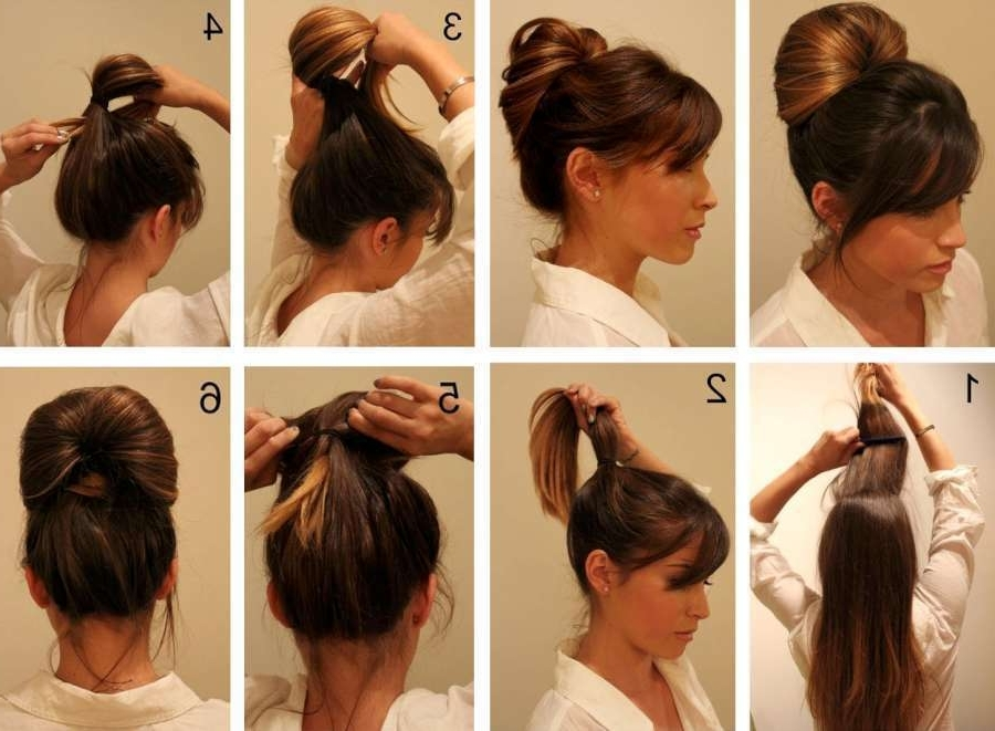 Quick Updo Hairstyles 2015 | Fashion And Women For Most Up To Date Quick Updo Hairstyles (Gallery 2 of 15)