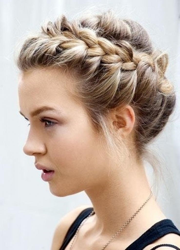 Quick Updo Hairstyles For Long Hair – Popular Long Hairstyle Idea For Most Up To Date Quick Braided Updo Hairstyles (View 13 of 15)