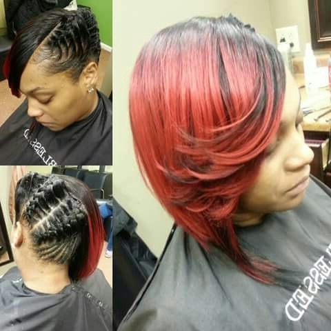 Quick Weave Updo | #arianasherrae Styles | Pinterest | Blessings Pertaining To Most Recent Quick Weave Updo Hairstyles (View 11 of 15)