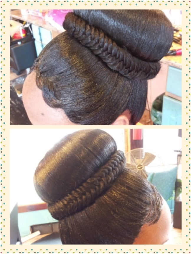 Quickweave Updo (View 12 of 15)