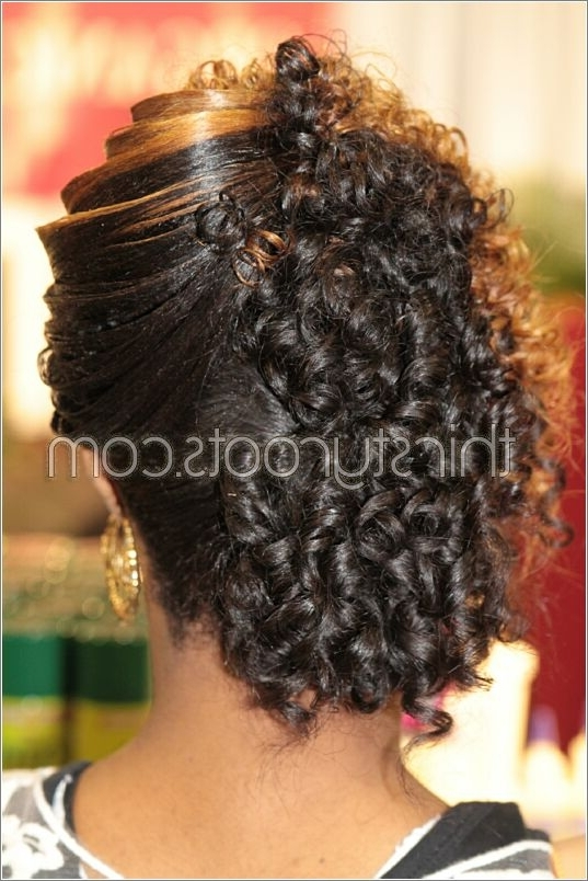 Relaxed Hairstyles Updo – Thirstyroots: Black Hairstyles Intended For Best And Newest Updo Hairstyles For Permed Hair (View 4 of 15)