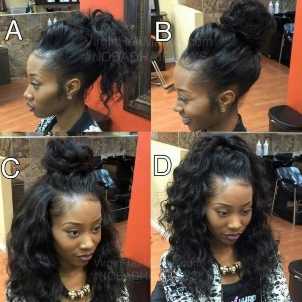 Sew In Updo Hairstyles | Buildingweb3 Throughout Cool Sew In Updo In Best And Newest Sew In Updo Hairstyles (View 10 of 15)