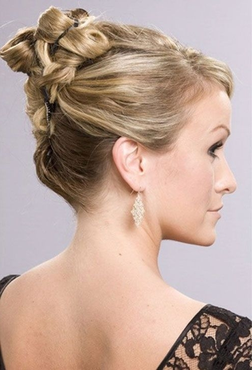Short Elegant Updo Hairstyles For Mother Of The Bride – Cool With Regard To Best And Newest Mother Of The Bride Updo Hairstyles For Short Hair (View 8 of 15)