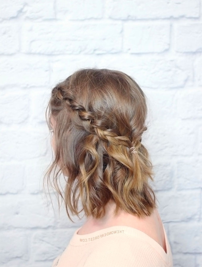 Short Hair Hairstyles – More Braids To Try – Hair Romance In Most Recently Half Updo Hairstyles For Short Hair (View 12 of 15)