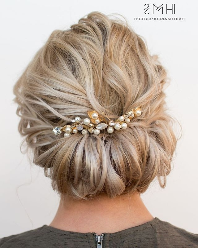 Short Hair Updo (View 8 of 15)