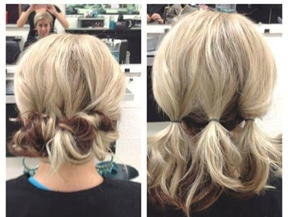 Short Hair Updos, How To Style Bobs, Lobs Tutorials In Newest Cute Updos For Short Hair (View 12 of 15)